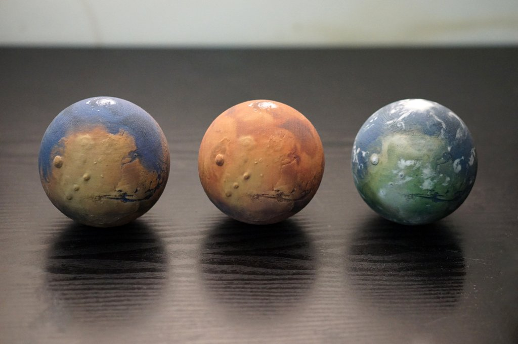 Mars 3 štádia
