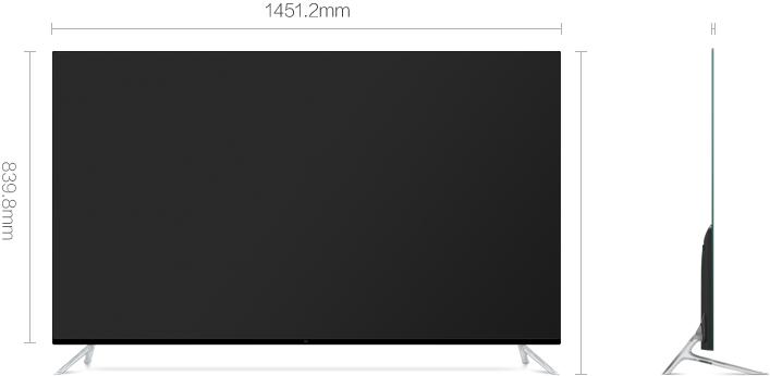 Rozmer Xiaomi MiTV 4