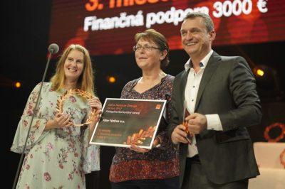 Ocenenie Nadácie Orange