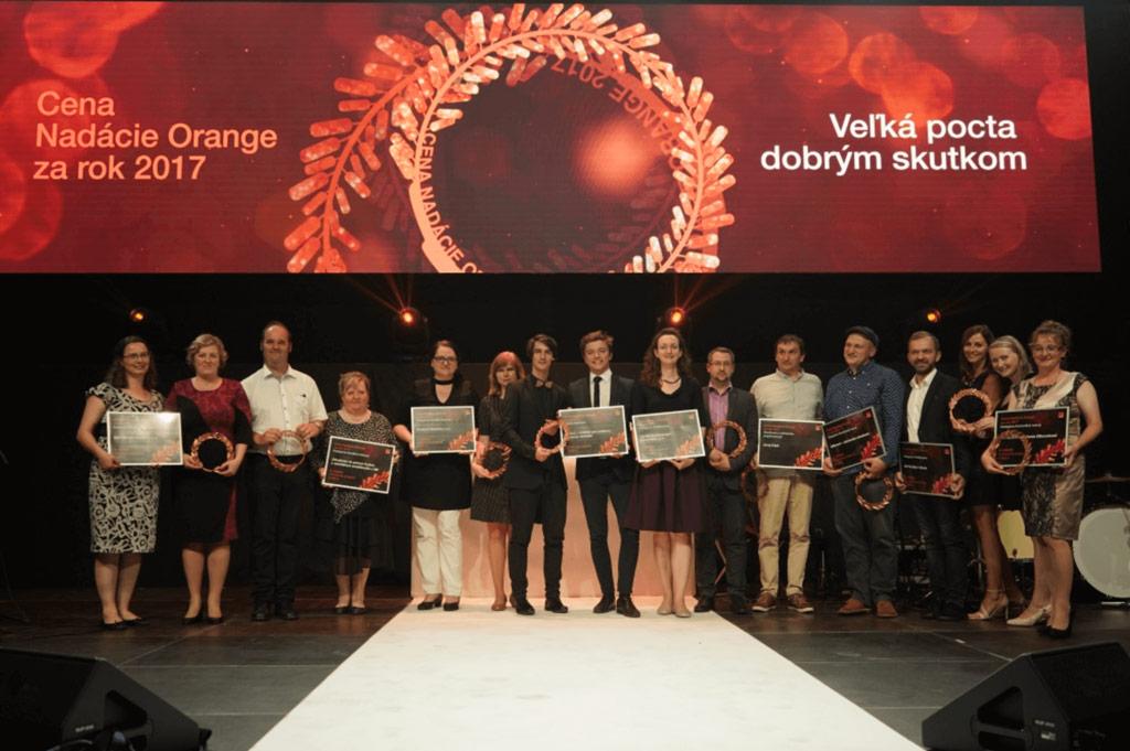 Ocenenia Nadácie Orange