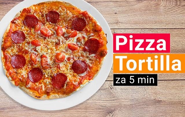 Pizza Tortilla recept