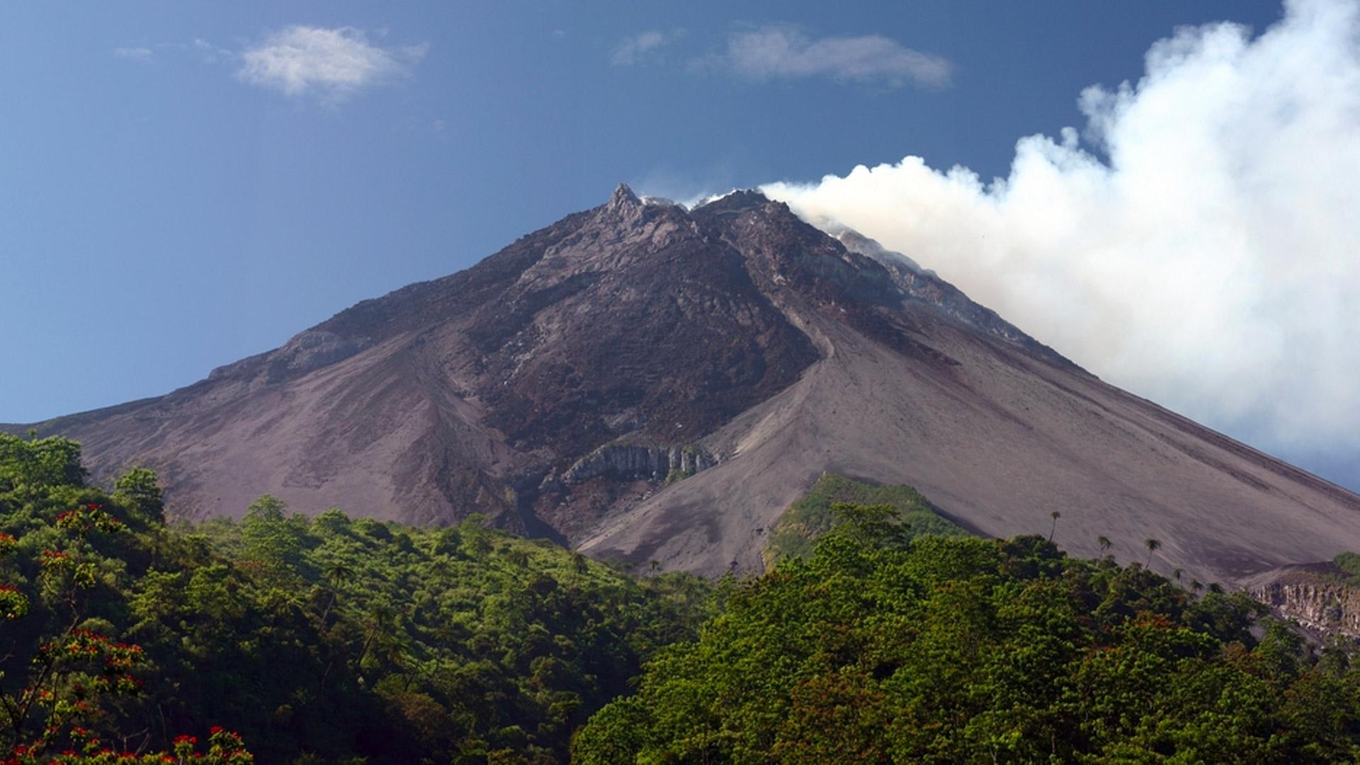 Mount Merapi – Indonézia