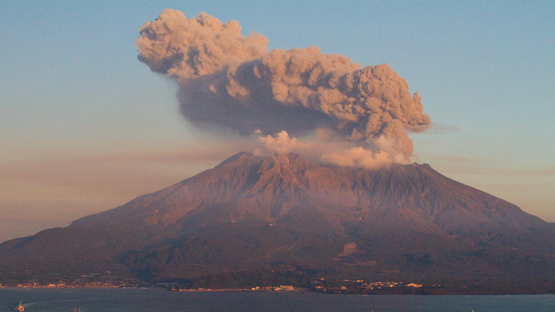 Sakurajima-Japonsko