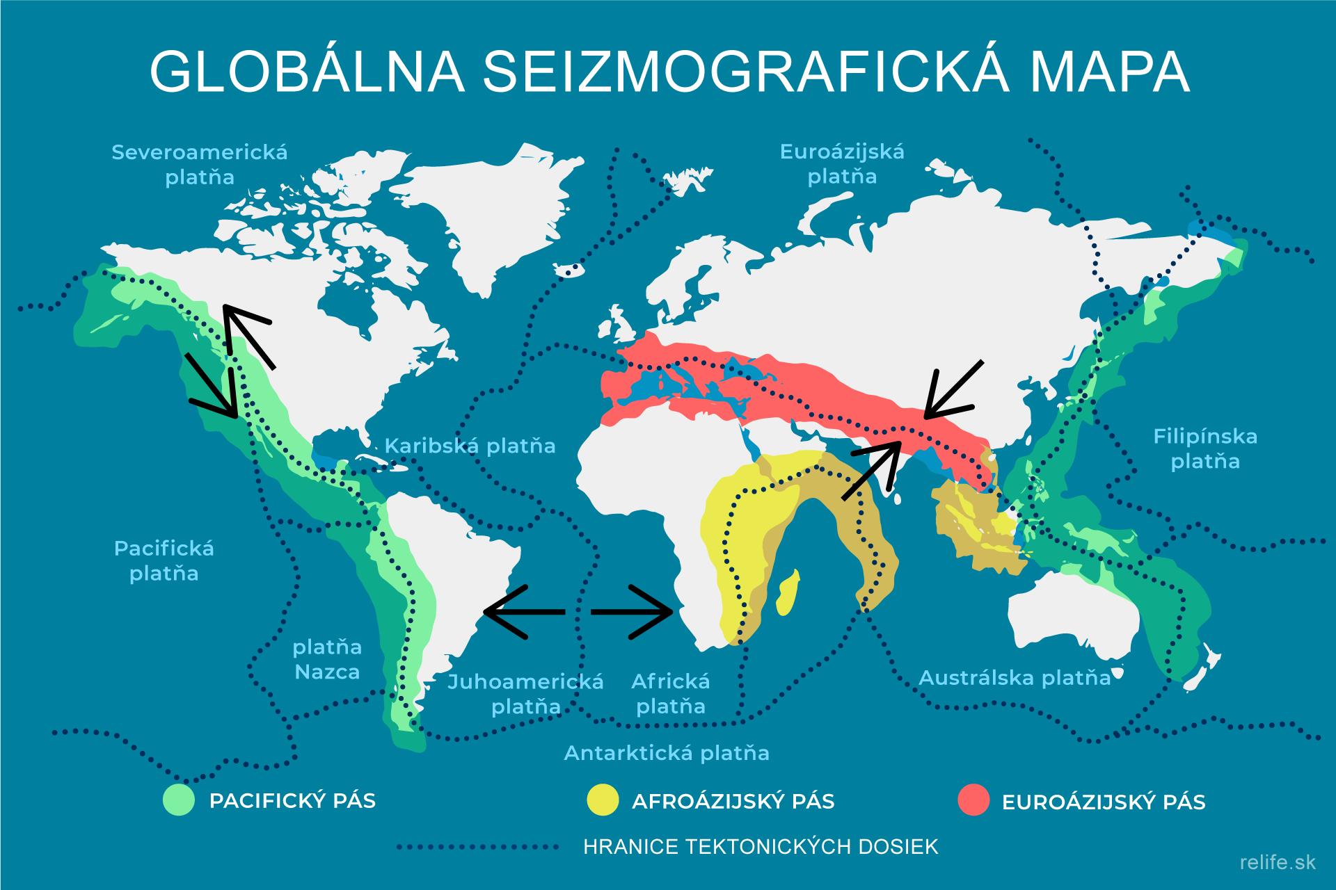 Seizmografická mapa