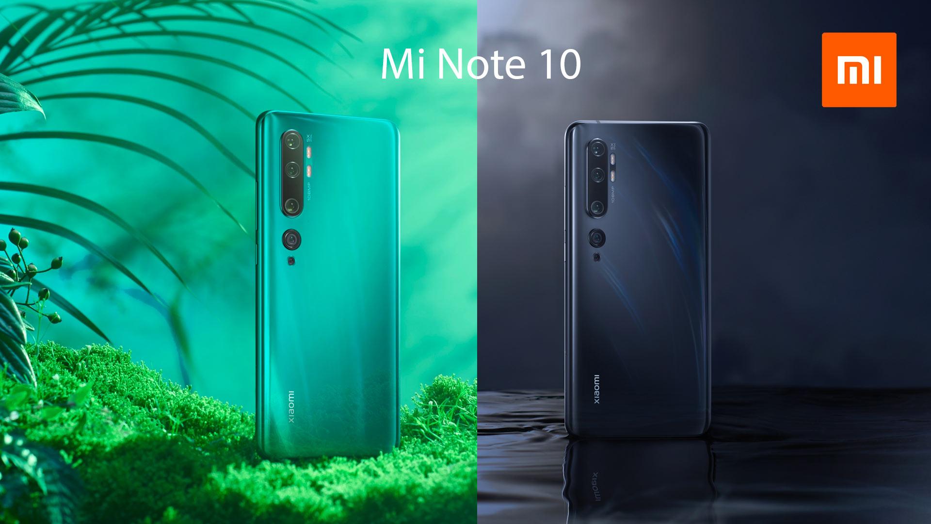 Mi Note 10 - Xiaomi