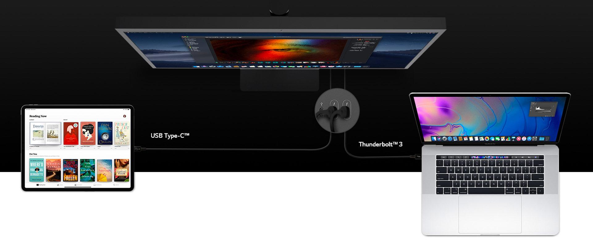 LG 24MD4KL monitor pre mac