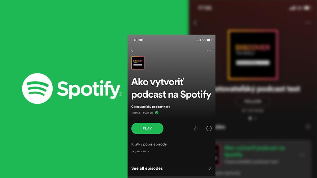 Ako vytvoriť podcast na Spotify