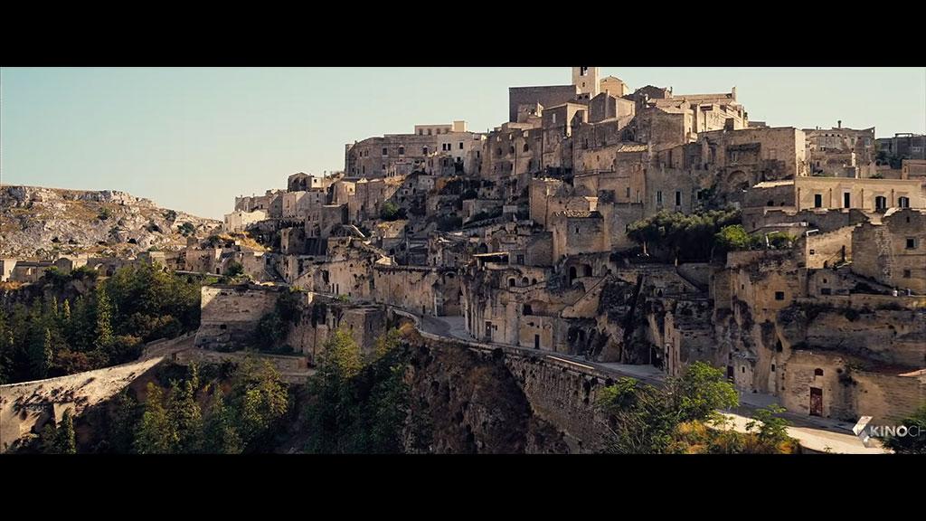James Bond - Matera location