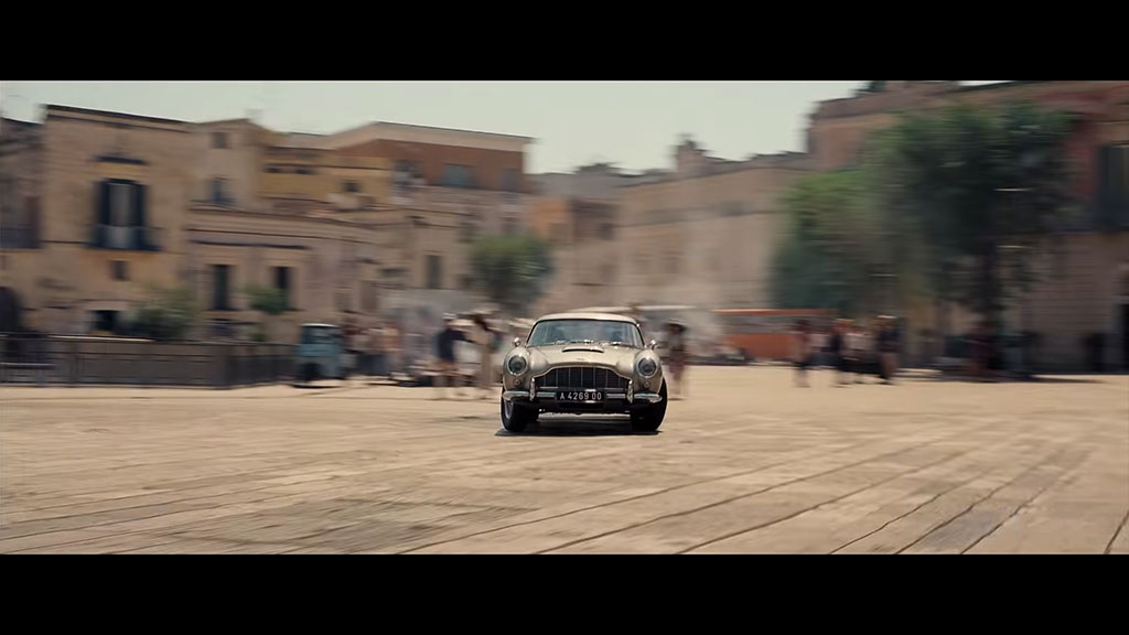 James Bond - location Matera Piazza Vittorio Veneto