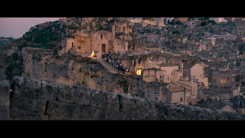 James Bond - Location Matera via Muro
