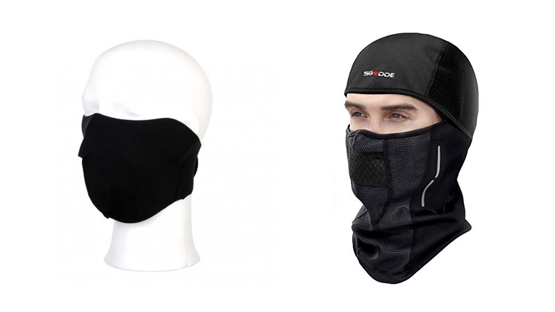 Maska na bicykel a lyžiarská maska