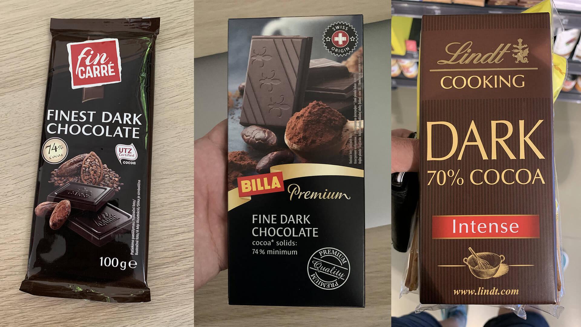 Top čokolády na varenie