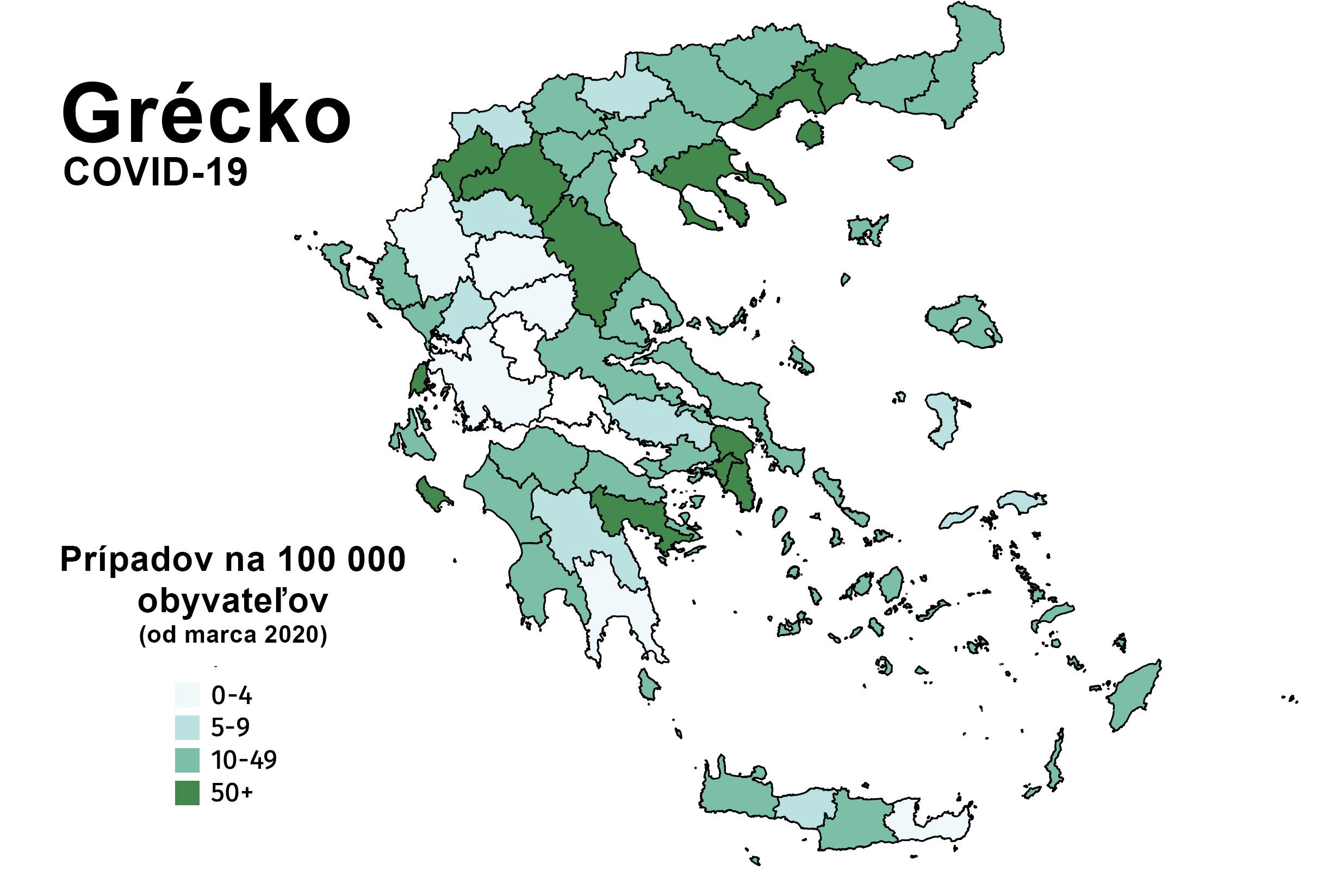 Grécko / COVID-19