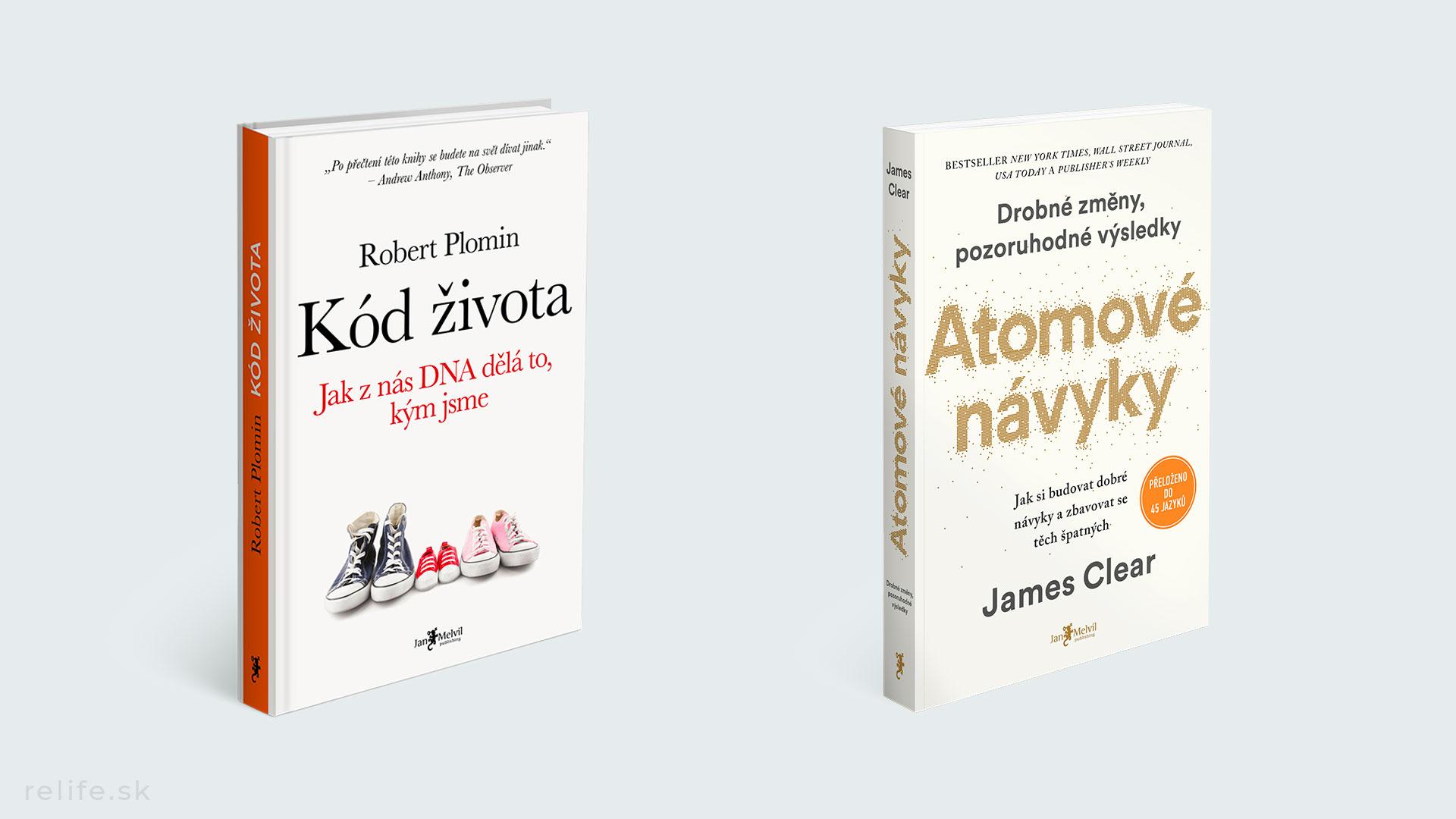 Top knihy 2020: Kód života, Atomové návyky