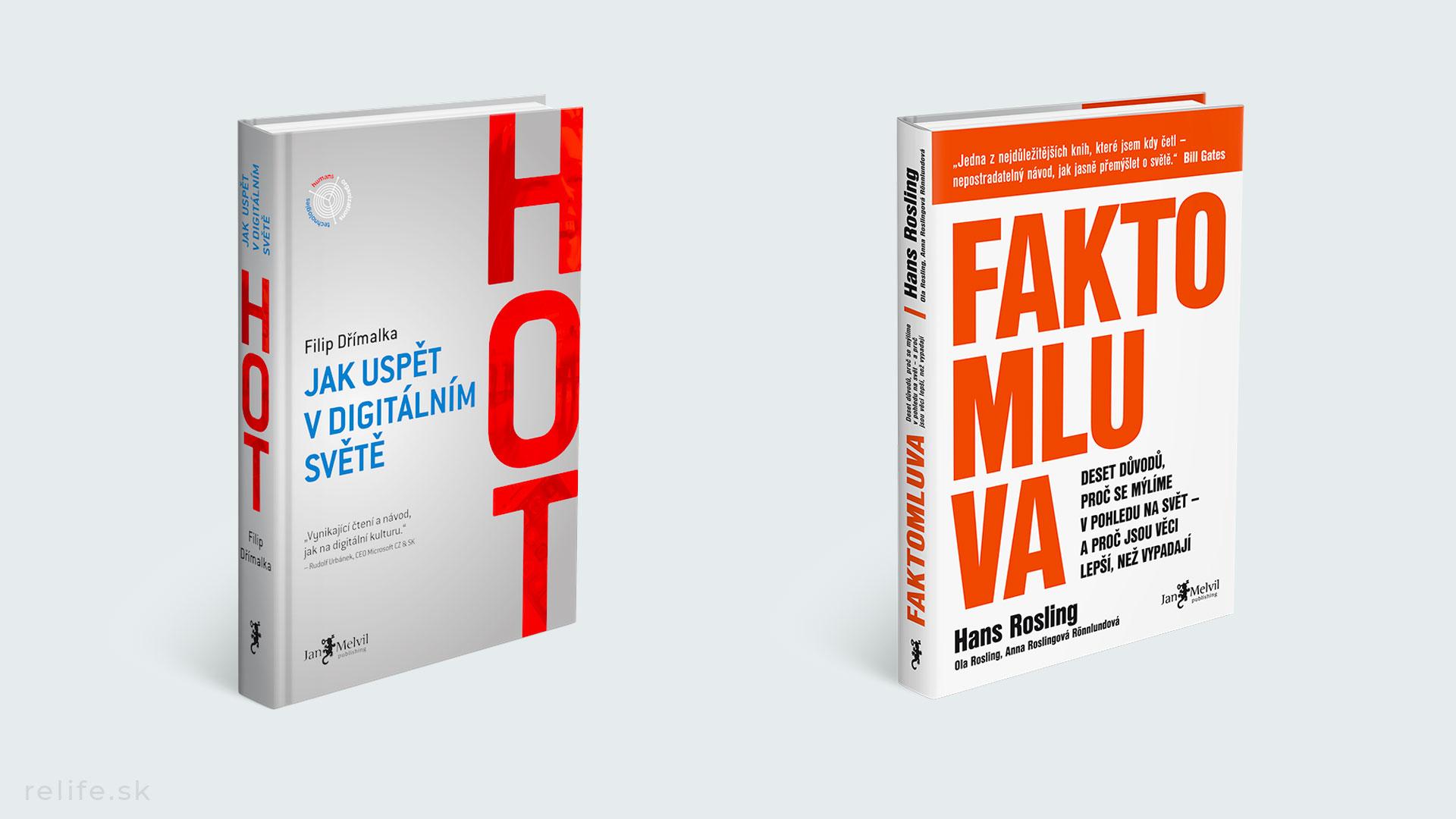 Top knihy - Faktomluva a Hot