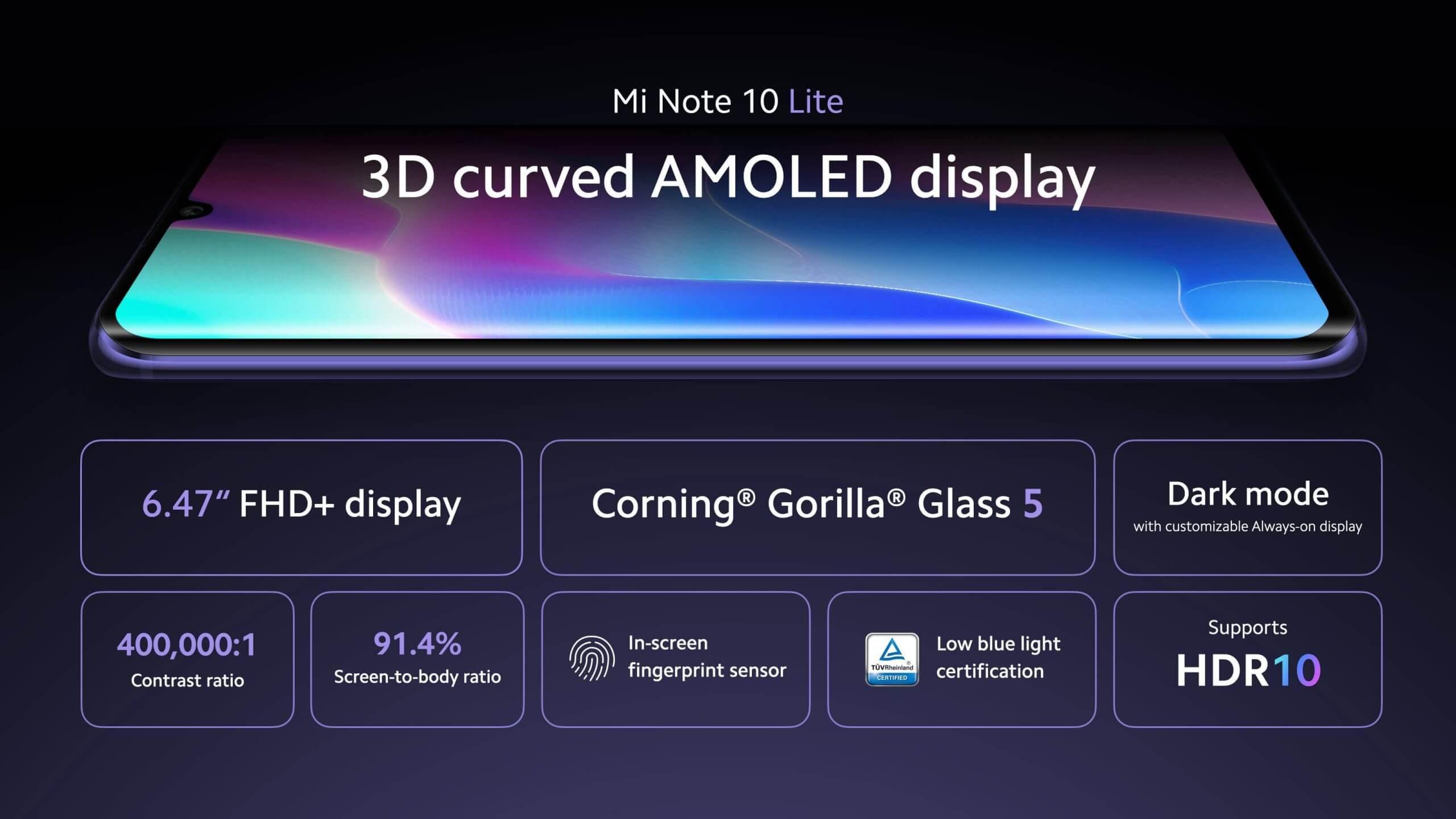 Xiaomi Note 10 Lite - cena