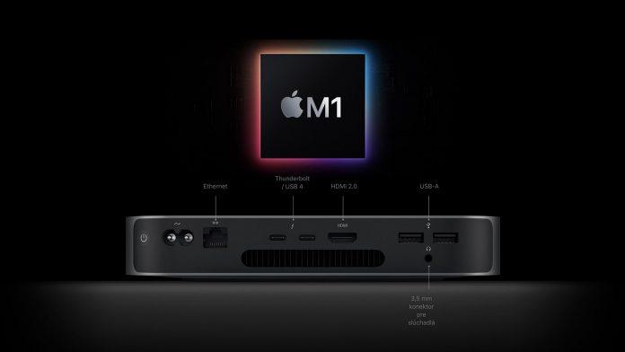 Mac mini M1 - PC na strih videa