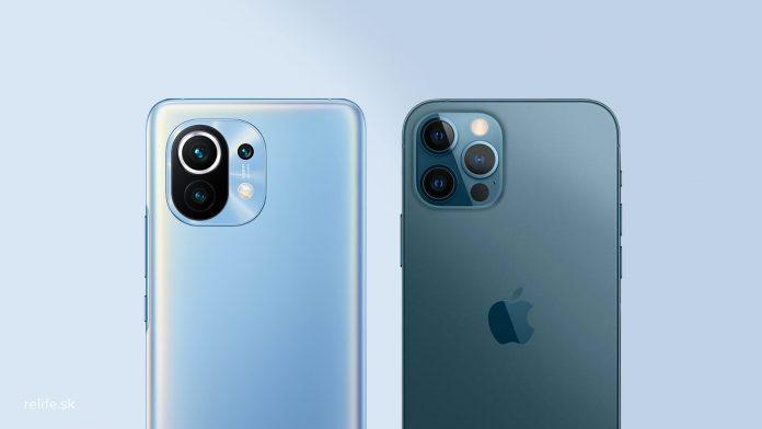 Mi 11 - iPhone 12