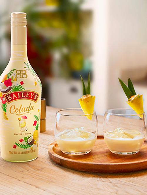 Letný nápoj s Baileys