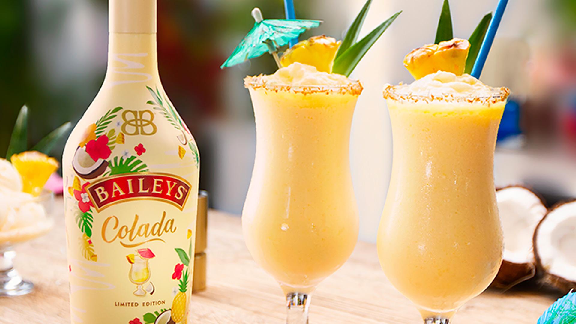 Pina Colada s Baileys