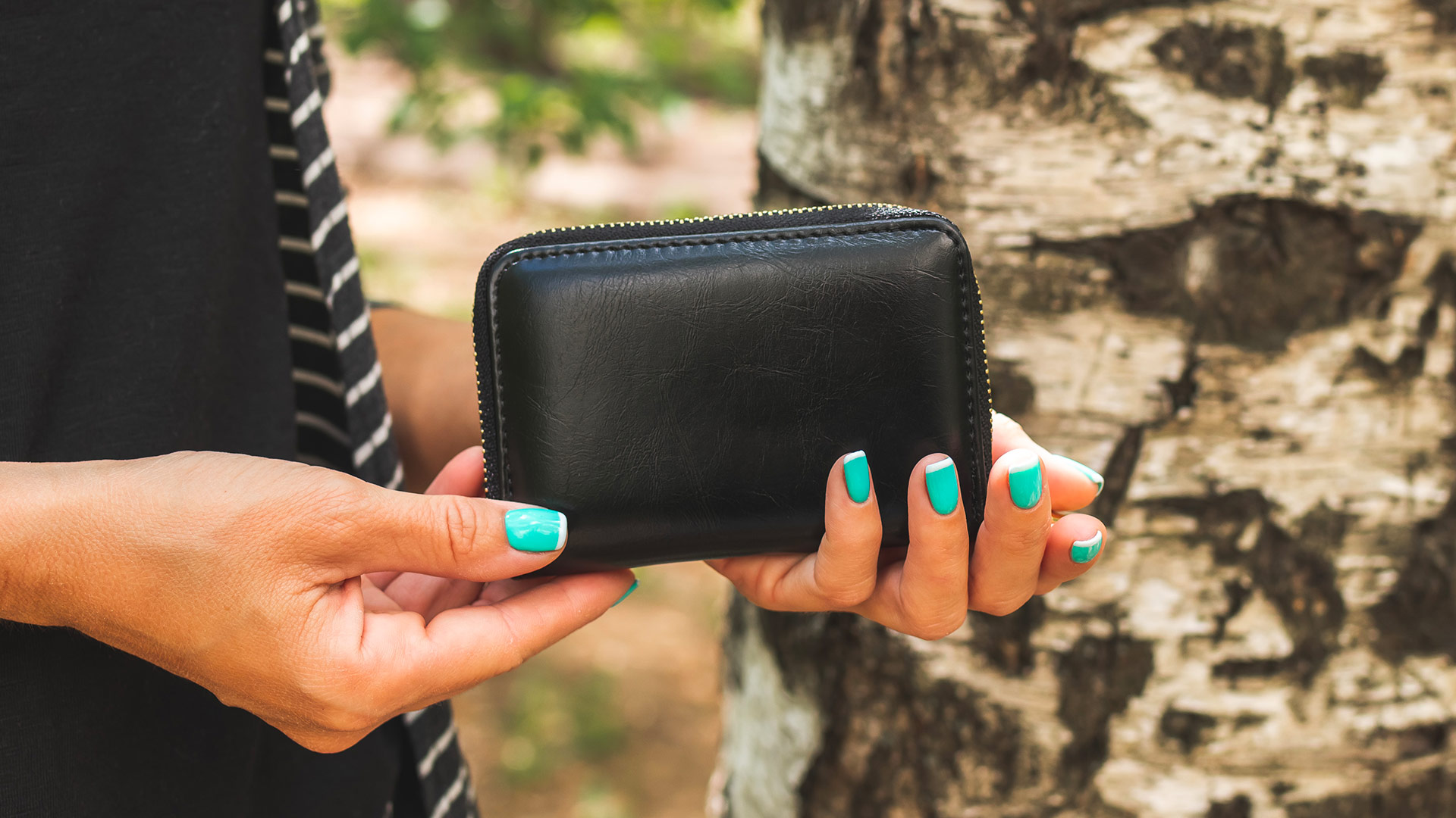 Dámske malé peňaženky
