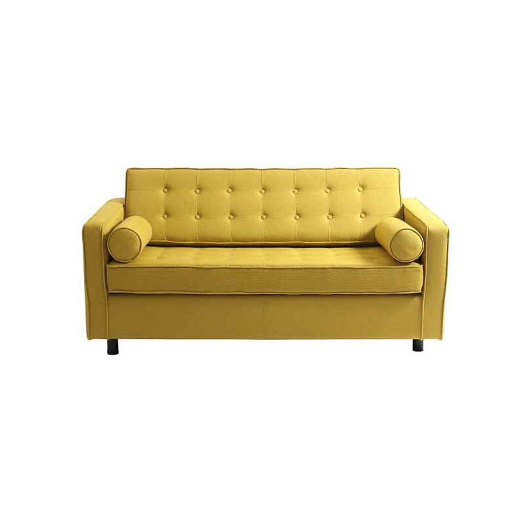 Luxusná pohovka žltej farby