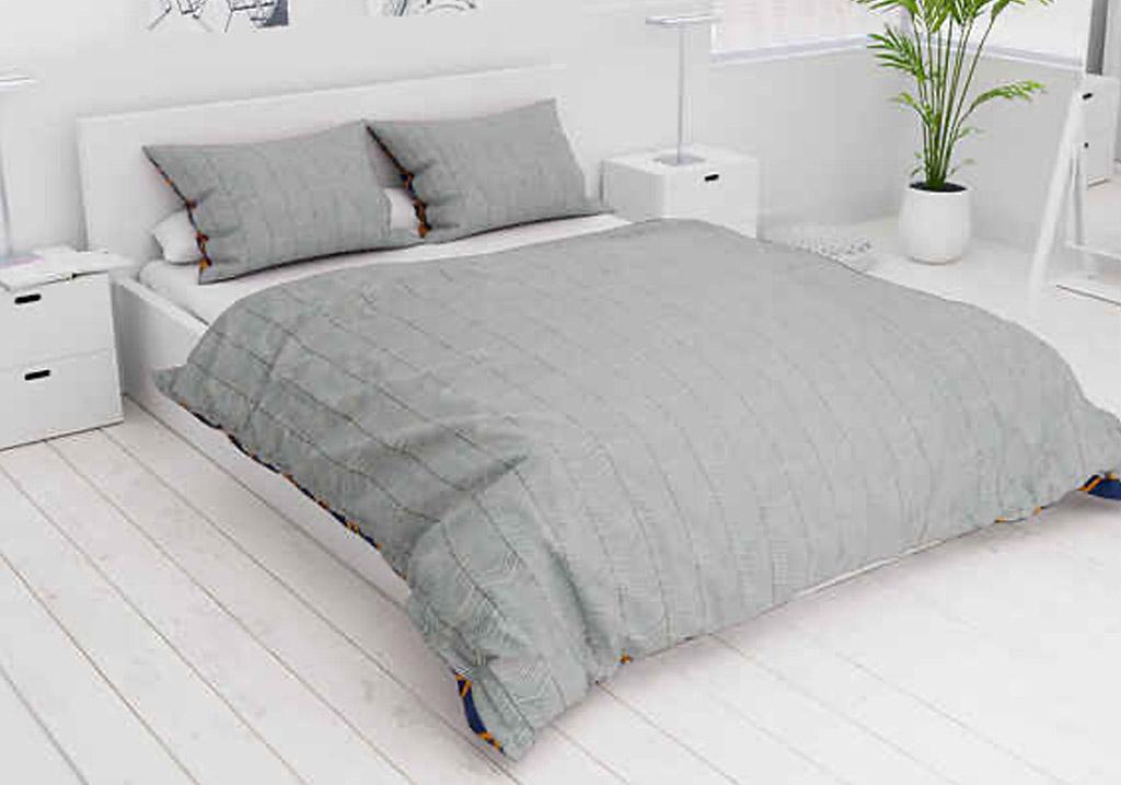 Spálňa sivá