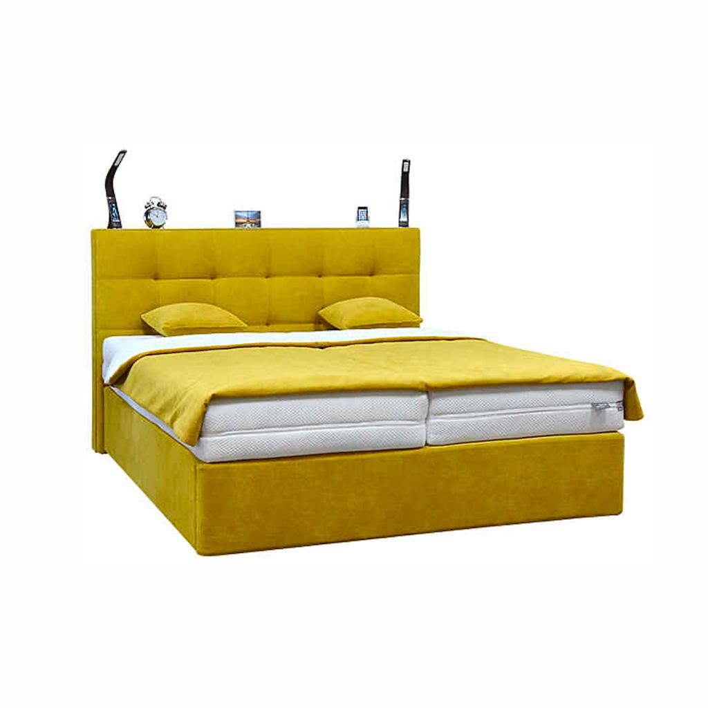 Žltá postel