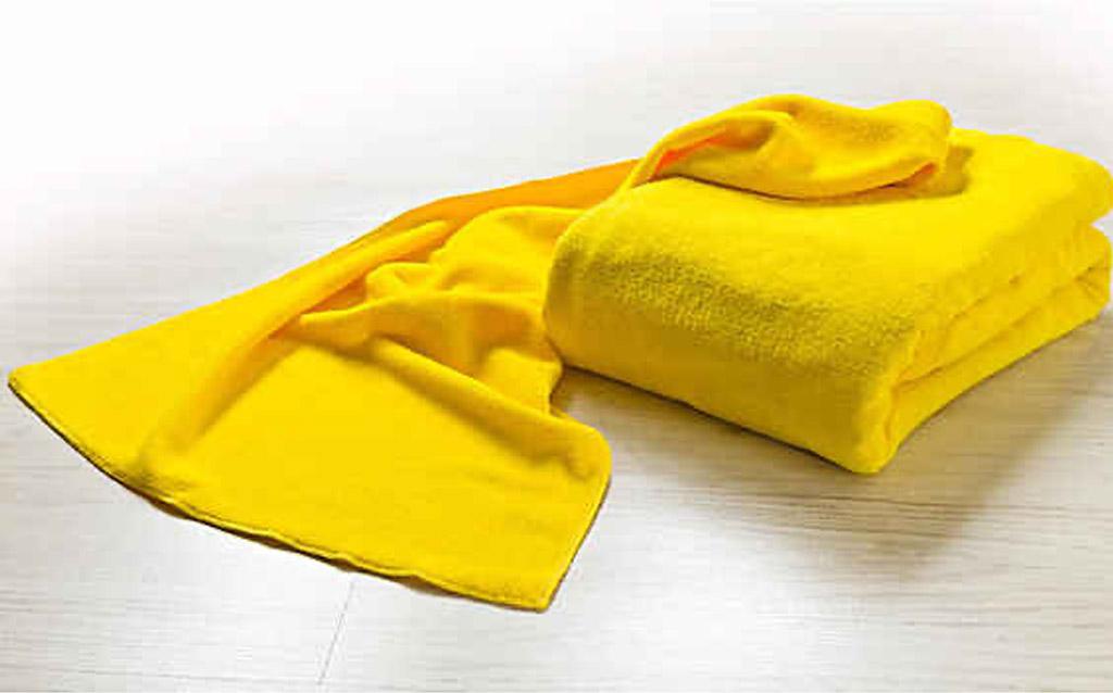 Žlté uteráky žltej farby - Biano